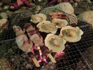 かまどで海鮮BBQ_20170812