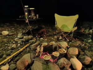 夜のキャンプ風景_2_20170812