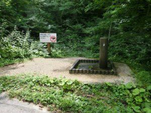 サイトの近くに水飲み場_20170820