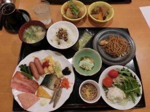 ホテル法華クラブ広島で朝食バイキング_20170917
