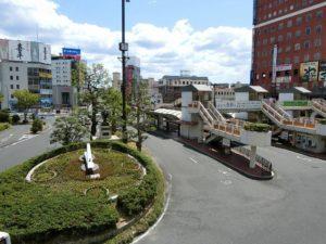 倉敷駅からの風景_201701902