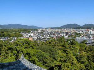 松江城からの眺め_20170930