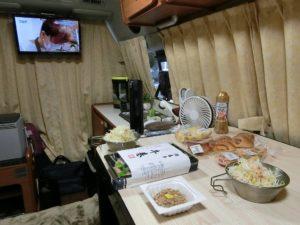 車内で朝食_20171008