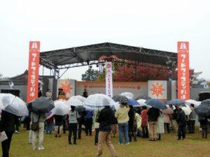 雨のステージ_171028