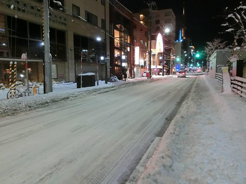 夜の札幌_171121