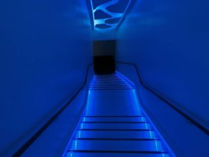 流氷体感テラスへの階段_171118