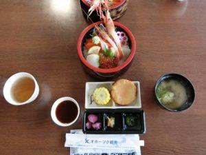 五種盛りの海鮮丼_1_171118