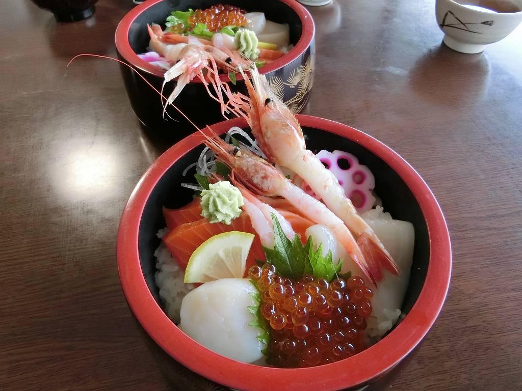 五種盛りの海鮮丼_2_171118