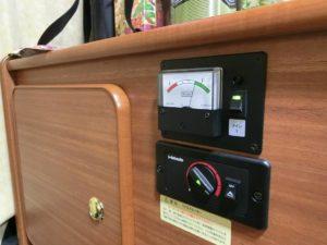 FFヒーターと電圧計_171201