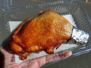 さぬき若鶏の骨付鳥(700円)_171202