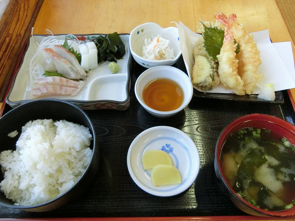ぴんぴんや定食(1,350円)_171202