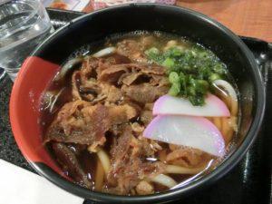 肉うどん(620円)_171208