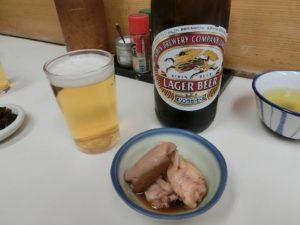 ビールと季節の小鉢_171208