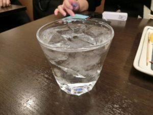 焼酎(500円)ロック_171208