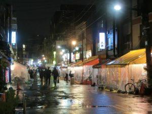 夜の浅草ホッピー通り_171208