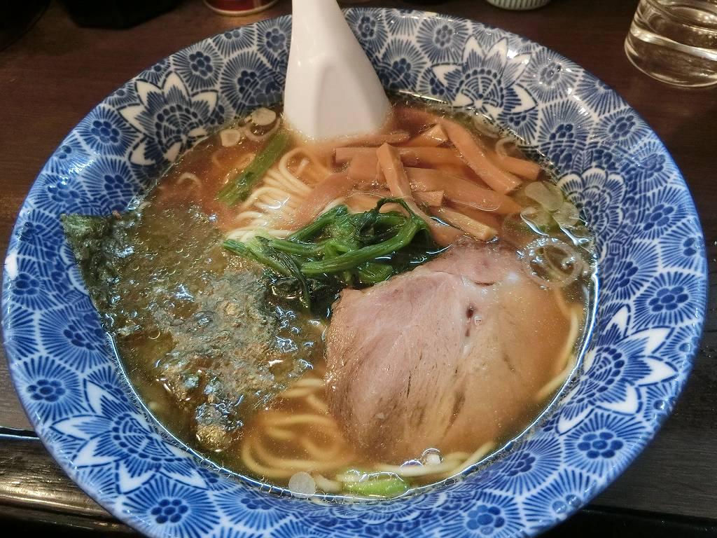 ら麺亭のラーメン_350円_171210