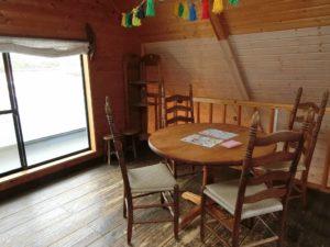 ジェラテリア・カドーレのカフェスペース_171216