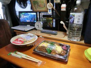 軽キャンで朝食_1_171223