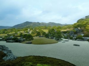足立美術館の日本庭園_1_171223