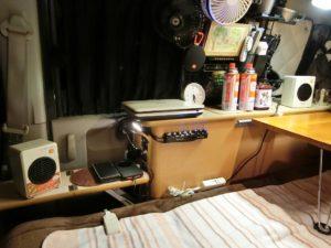 軽キャンはミニセラミックファンヒーター2台_171223