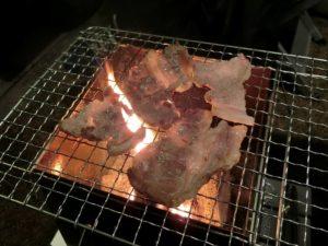島根和牛を焼く_171223