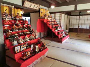 松坂邸の雛飾り_180317
