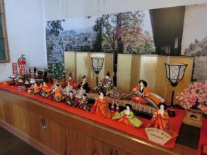 歴史民俗資料館の雛人形_180317