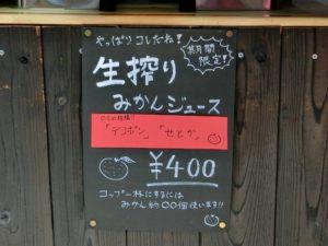 生搾りみかんジュース_400円_180318