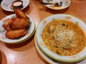 辛味チキンとトマトクリームリゾット_399円_180210