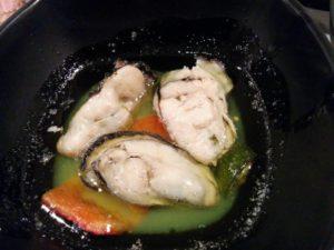 牡蠣のアヒージョ_180303