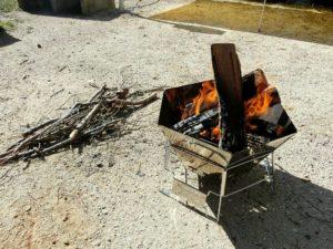 焚き火_180422