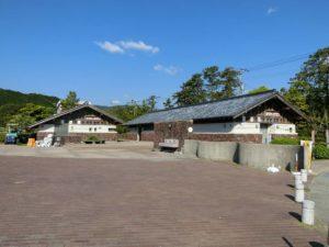 海の駅東陽町のトイレとシャワー棟_180504