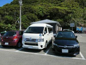 室戸岬の駐車場_180504