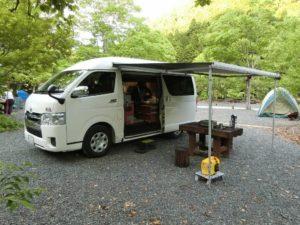 安田川アユおどる清流キャンプ場にWalk2_180504
