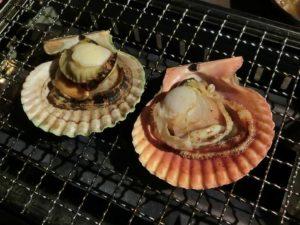 長太郎貝を焼く_180504