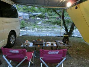キャンプ場で車中泊キャンプ_3_180505now