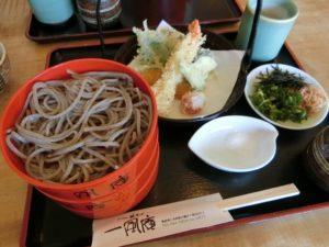 天ぷら割子そば_1230円_180526