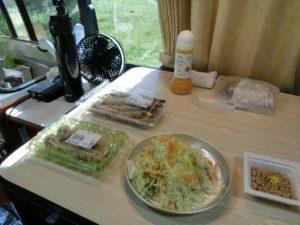 野菜サラダなど_180527