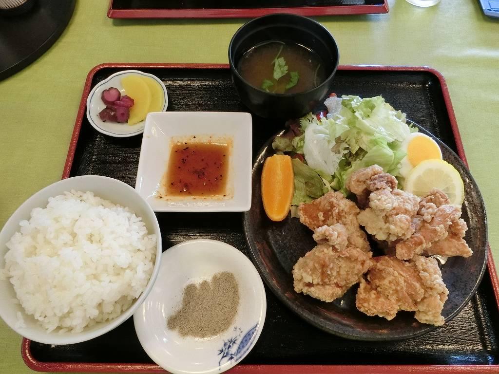 鶏唐揚定食_750円_180527