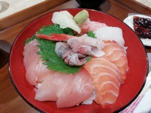 限定ランチ海鮮丼_2_180616