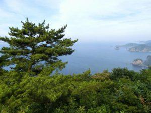 白島崎展望台からの景色_2_180713