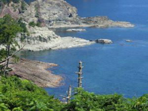 隠岐の島の海岸_1_180714