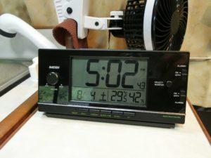 午後5時で29.5度_180804