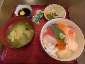 ミニ海鮮丼_648円_180811