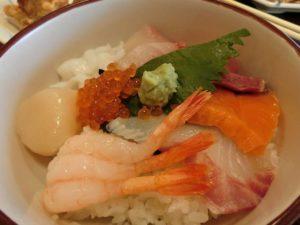 ミニ海鮮丼_180811