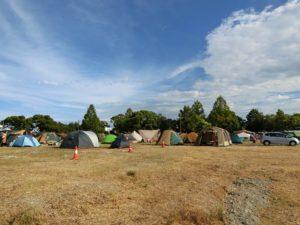 AWAODORI_CAMPのテントサイト_180812