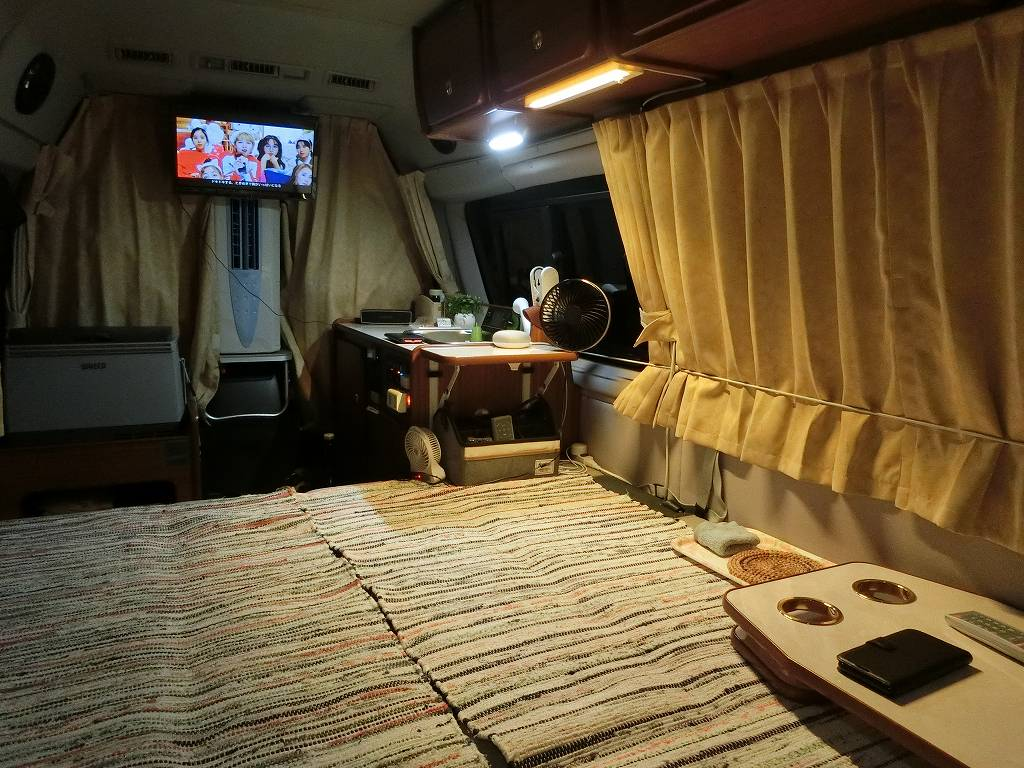 テレビを観ながら過ごす_180825