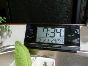 車内の温度_180908