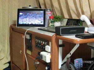 ワイヤレスTVとスピーカー_180923