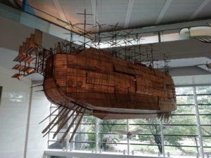 ラピュタの飛行船_180910